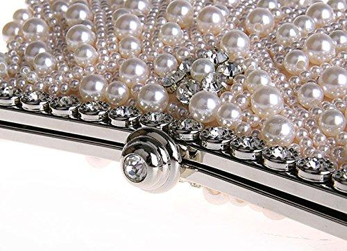 À Gracieux De Sac Rose Champagne Diamanté Femme Mariage Soirée Perlé Main Cérémonie Pochette Chic Bal Pour 8CEXqw