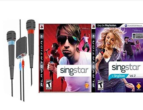 Singstar and Singstar Volume 2 Bundle - Playstation - Singstar Playstation 2 Bundle