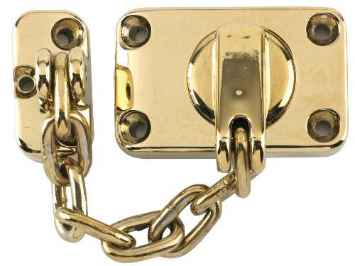 Yale Locks WS16 Combined Door Chain & Bolt Electro Brass Finish ...