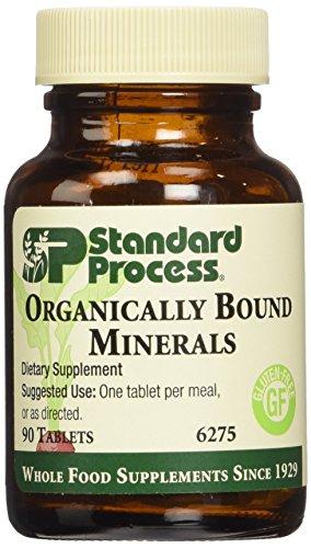 Standard Process Organically Bound Minerals 90 T