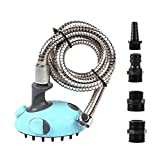 SymbolLife Multifunctional Pet Dog Cat Shower Head Handhold Sprayer Kit Massage Brush / Comb with Shampoo Dispenser