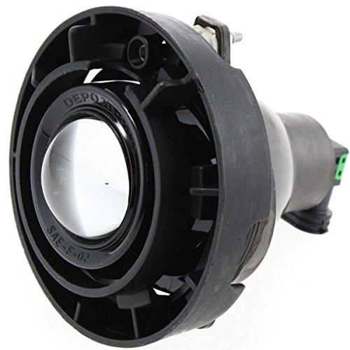 Diften 114-B1000-X01 - New Fog Light Driving Lamp Passenger Right or Driver Left Side Chevy RH LH GMC