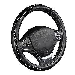 Crystal Studded Rhinestone Steering Wheel Cover