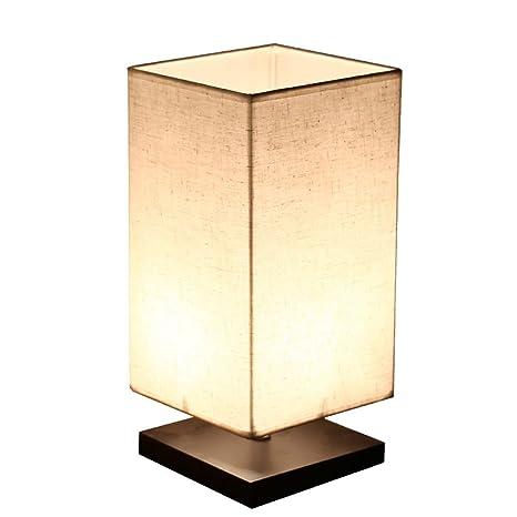 Lampada Da Tavolo Lampade Da Tavolo Moderna Semplice Da Letto Lampada Da  Comodino Pastorale Caldo Lampada