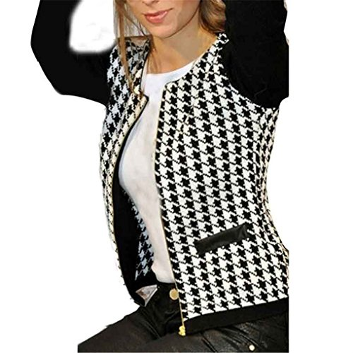 Women Jacket,Haoricu Autumn Winter Women Fashiom Short Jackets Coat Casual