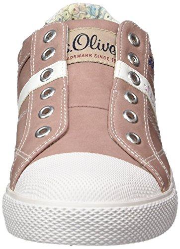 s.Oliver 54104, Zapatillas para Niños Rosa (DUSTY PINK 547)