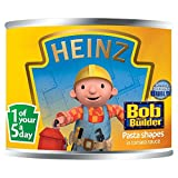 Heinz Bob the Builder Pasta Shapes in Tomato Sauce (205g)
