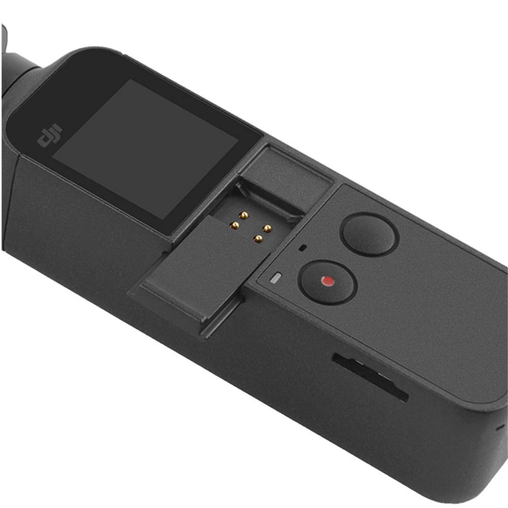 KINGDUO Sportello Anteriore//Frontalino//Tappo USB Dati//Batteria//Coperchio per Accessori per Cardiofrequenzimetro DJI Osmo Pocket