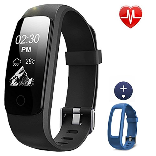 Lintelek Fitness Tracker 107plus Heart Rate Monitor