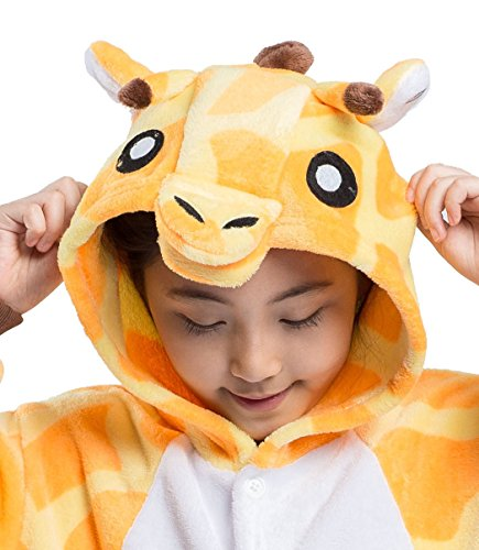 Kids Giraffa Unesiesies Kigurumi Akaayuko animale Pigiama dxFv8n7