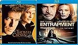 Cat Burglars 2-Blu Ray Set - Entrapment & Thomas Crown Affair 2-Movie Blu-ray Bundle