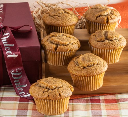 Muffin Pumpkin Gift Basket