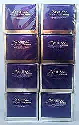 8 X Avon Anew Platinum Define & Contour Night Cream 50ml - 1.7oz Set !