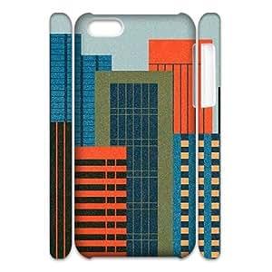MEIMEIiphone 6 4.7 inch Case 3D, Urban Buildings Illustration Case for iphone 6 4.7 inch white lmiphone 6 4.7 inch173237MEIMEI