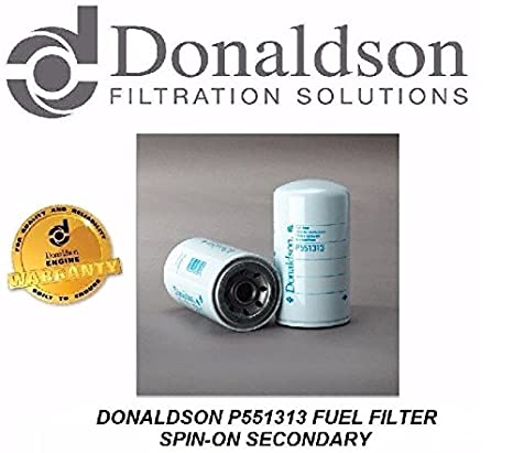Amazon.com: Donaldson P551313 Fuel Filter Replacet for CAT 1R ...