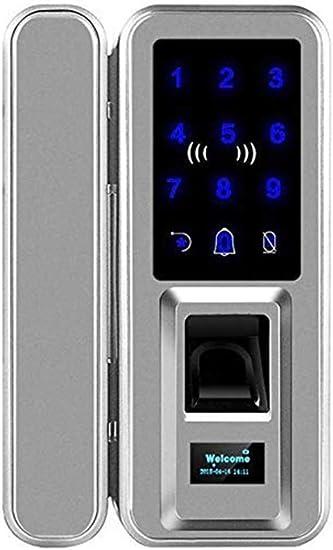 Yughb Huella digital cerradura de puerta, entrada sin llave ...