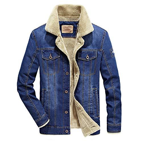 rivestimento Jeans Invernale Cappotto Petto Mantenere Giacca Haine rrw8qTv