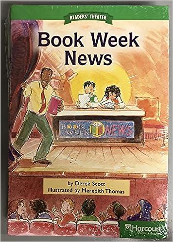 Storytown Advanced Reader 5 Pack Grade 2 Book Week News