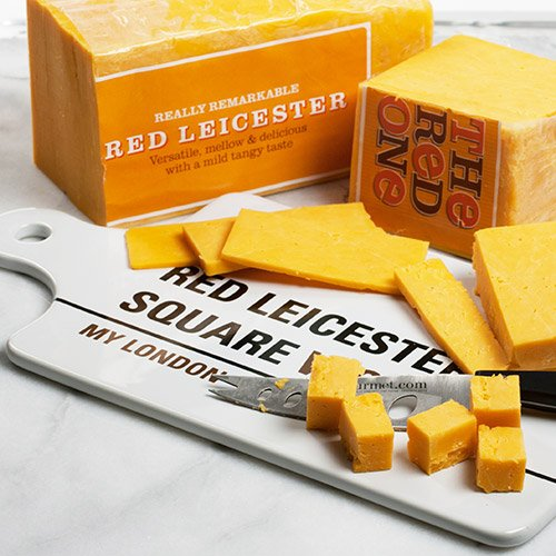 igourmet Mature Red Leicester (7.5 ounce) (Mature Cheddar Cheese)