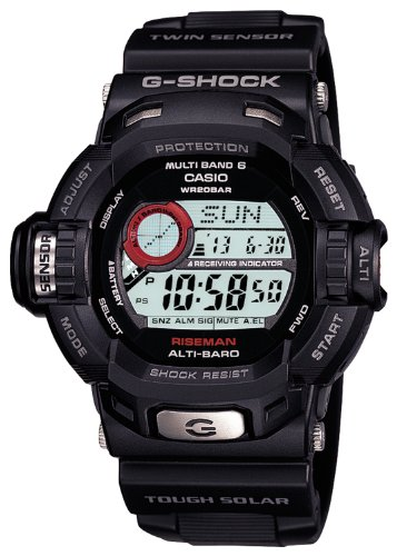 CASIO G-SHOCK RISEMAN Tough Solar Radio Controlled MULTIBAND6 GW-9200-1JF (Japan Import)