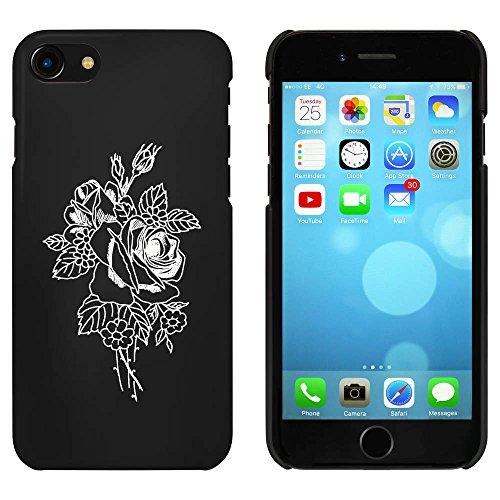 Noir 'Bouquet de Roses' étui / housse pour iPhone 7 (MC00081547)