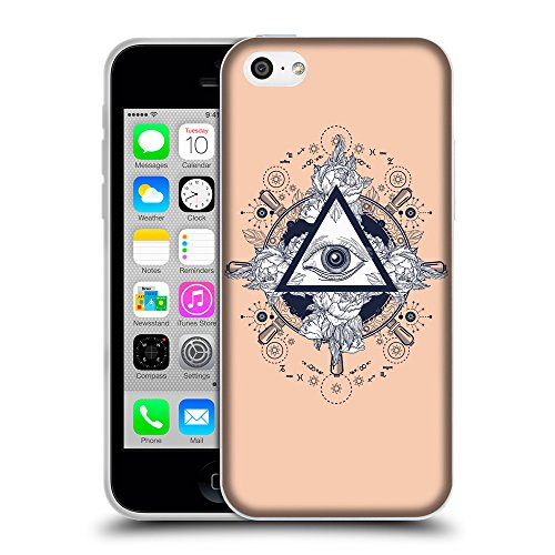 GoGoMobile Coque de Protection TPU Silicone Case pour // Q08530604 Religion 17 Abricot // Apple iPhone 5C