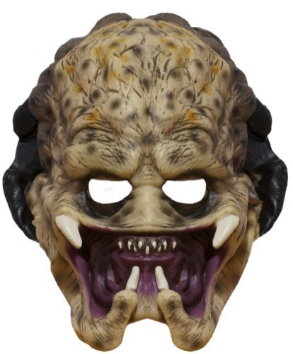 Aliens Vs. Predator, Child's Predator 3/4 Vinyl Mask Size: Standard Model: 4165 (Alien Child Mask)