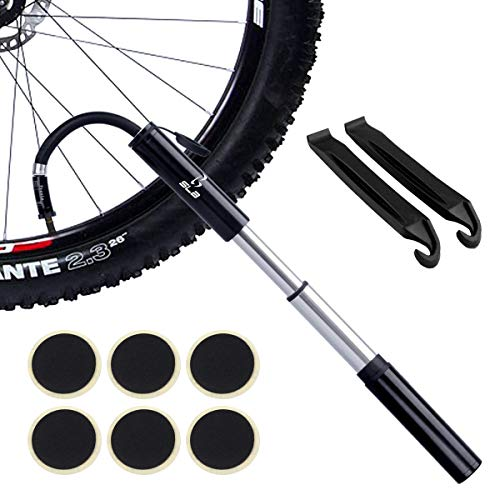 Bike Pump, Mini Lightweight and Portable Road Bicycle Pump Fit Presta &...