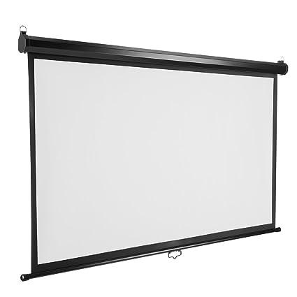 Amazon.com: Excelvan Projector Screen 7 Pieces Velvet Fixed Frame ...