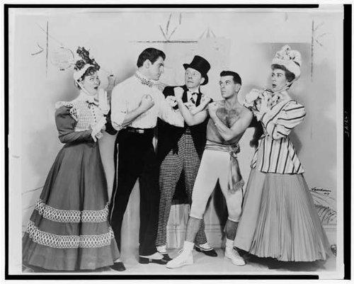 Photo: Bibi Osterwald,Stephen Douglas,Jack Whiting,Jonathan Lucas,Portia Nelson,1954