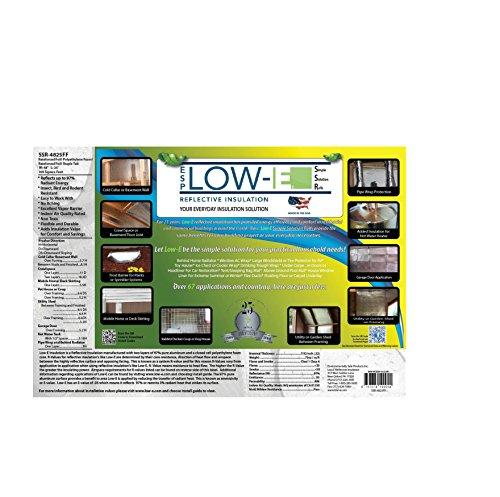 2 PACK Wholesale Lot: ESP Low-E® SSR Reflective Foam Core Insulation Kit: 2 Rolls (Size 48