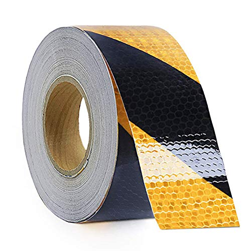 Marking Tape Red Aisle (Reliancer Waterproof Reflective Safety Tape Roll 2