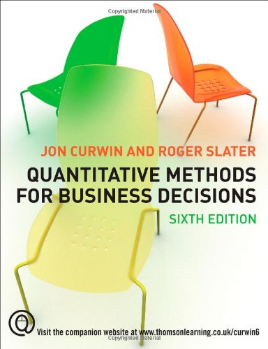 quantitative techniques in management ebook free