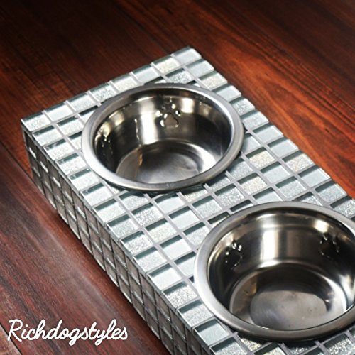STYLISH DOG BOWL STANDS by Richdogstyles