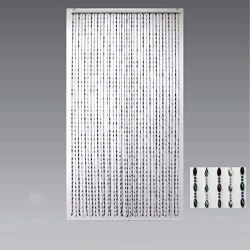 MULTICOLOUR 90 x 200 cm 35 x 78 in HAB /& GUT Door Curtain OVAL DV0222