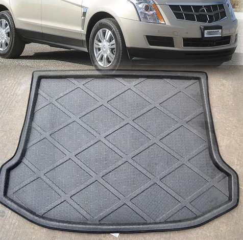 Liner Floor Cargo Rear Trunk Mat Tray Boot Protector Cover Fit For CADILLAC SRX 2010 2011 2012 (Srx Cargo Cover)