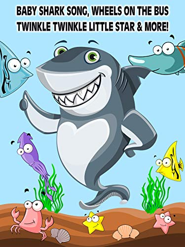 Baby Shark Song, Wheels on the Bus, Twinkle Twinkle Little Star & More!