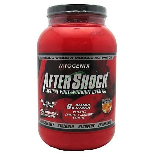 Récupération AfterShock, les objectifs de croissance musculaire, le typhon tropical, £ 2,64, De Myogenix