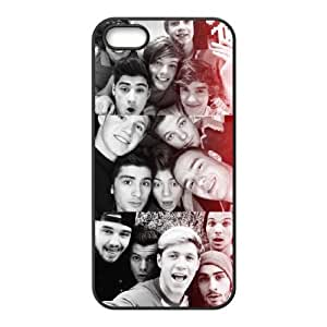 VNCASE One Direction Phone Case For iPhone 5,5S [Pattern-2]