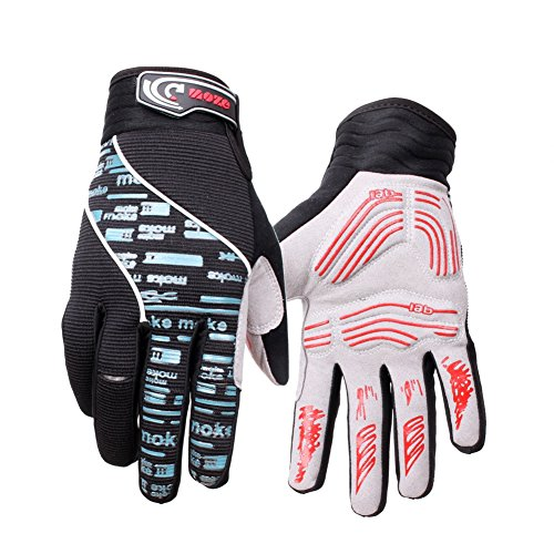 Messagee Winter Warm Workout Outdoor Cycling Gloves Touch Screen Technology Ski Snowboard Full Finger Gloves