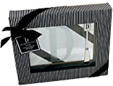 Cosmopolitan Home by Mud Pie, Monogrammed 8-Inch by 10-Inch Square Glass Cheese Tray and Matching Spreader both with Initial E