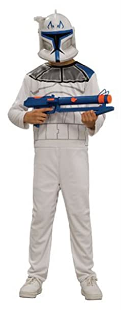 Star Wars Clone Trooper Rex Costume Child Medium  sc 1 st  Amazon.com & Amazon.com: Star Wars Clone Trooper Rex Costume Child Medium: Clothing