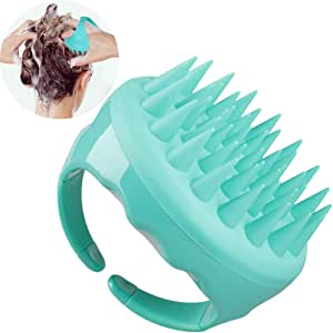 Upgraded Shampoo Brush Hair Scalp Massager Hairbrushes with Easy Handle for Curly Girls, Soft Silicone Care brushes Comb For Hair Cleaning And Rejuvenating