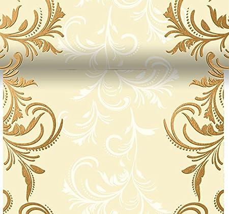 Duni Dunicel-Tischläufer 3 in 1 0,4 x 4,80 m Grace Cream alle 40 cm perforiert