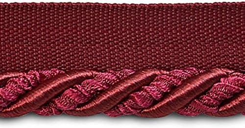 Chocolate 20-Yard Expo International 3//8-Inch Helena Decorative Lip Cord Trim Embellishment