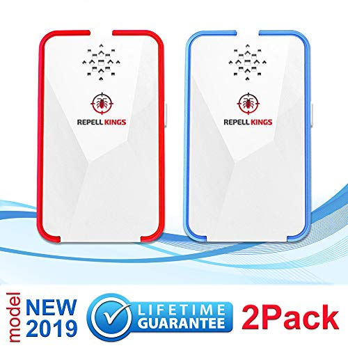 Pest Repeller Ultrasonic 2019 - EcoFriendly & Pet Sаfe 2 Pack Control Repellent Reject Rodents, Bats, Flies, Mice, Rats, Squirrels, Ants, Insects, Bed Bugs, Mosquitoes, Fleas, Roaches, No Kill Plug In