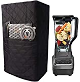 Kitchen Blender Covers, Quilted Polyester Cover Compatible with Ninja 1000 Watt Professional Blender, Protector Cover…