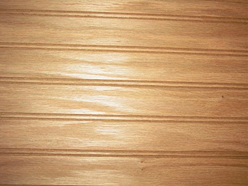Red Oak Bead Board Plywood 1/4 X 24 X 48 WOODNSHOP