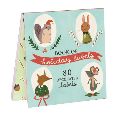Holiday Forest Friends Labels