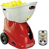 Lobster Sports Elite Three Tennis Ball Machine with Elite 10-Function Remote Control